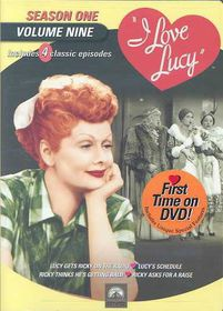 I Love Lucy:Season One Vol 9 - (Region 1 Import DVD)