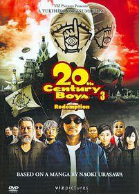 20th Century Boys 3:Redemption - (Region 1 Import DVD)