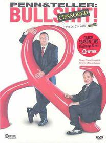 Penn & Teller:Bullsh*t  Censored - (Region 1 Import DVD)