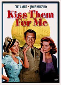 Kiss Them for Me - (Region 1 Import DVD)