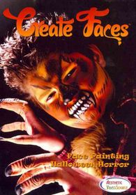 Create Faces:Face Painting Halloween - (Region 1 Import DVD)