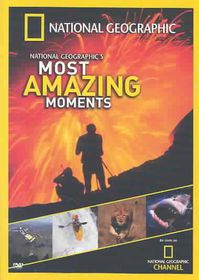 National Geographic's Most Amazing Moments - (Region 1 Import DVD)