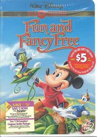 Fun and Fancy Free - (Region 1 Import DVD)