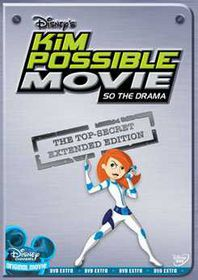 Kim Possible Movie:So the Drama - (Region 1 Import DVD)