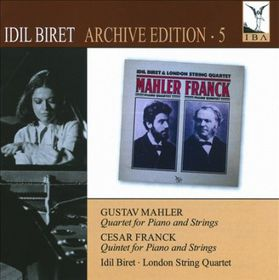 Mahler/franck - Idil Biret Archive Edition 5 (CD)