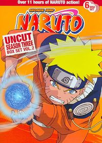 Naruto Uncut Ssn 3 Box Set V2 - (Region 1 Import DVD)