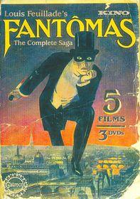 Fantomas:Five Film Collection - (Region 1 Import DVD)