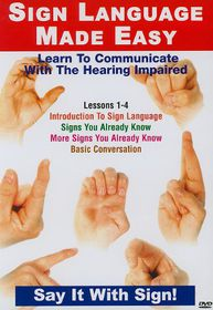 Sign Language Made Easy: Lessons 1-4 - (Import DVD)