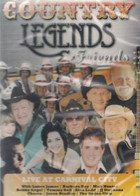 Country Legends & Friends 2 - LIve At Carnival City - Various Artists (DVD)