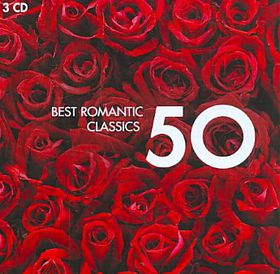 50 Best Romantic Classics - Various Artists (CD)