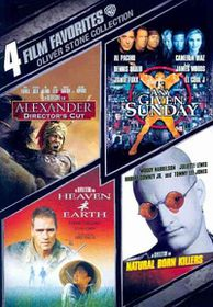 4 Film Favorites:Oliver Stone - (Region 1 Import DVD)