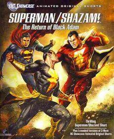Superman/Shazam:Return of the Black a - (Region A Import Blu-ray Disc)