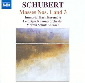 Schubert: Masses No 1 &3 - Masses Nos.1 & 3 (CD)