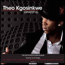 Theo Kgosinkwe - Grateful (CD)