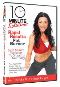 10 Minute Solution - Rapid Results Fat Burner - (Import DVD)