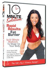 10 Minute Solution - Rapid Results Fat Burner - (Import DVD)