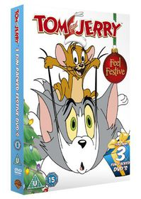 Tom And Jerry's Christmas Triple - (Import DVD)