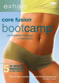 Exhale:Core Fusion Bootcamp - (Region 1 Import DVD)