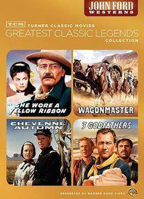 Tcm Greatest Films:John Ford Westerns - (Region 1 Import DVD)