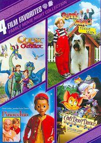 4 Film Favorites:Family Movie Night - (Region 1 Import DVD)