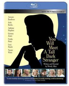You Will Meet a Tall Dark Stranger - (Region A Import Blu-ray Disc)