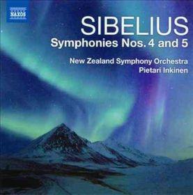 Sibelius / Nzso / Inkinen - Symphonies Nos.4 & 5 (CD)