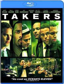 Takers - (Region A Import Blu-ray Disc)