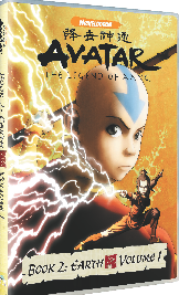 Avatar: Book 2 Vol 1 - (DVD)