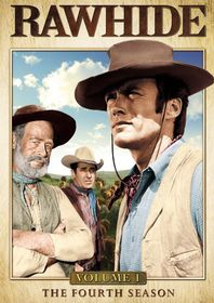 Rawhide:Season 4 Vol 1 - (Region 1 Import DVD)