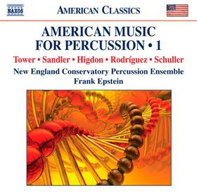 Tower / Higdon / Sandler / Schuller / Necpe - American Music For Percussion 1 (CD)
