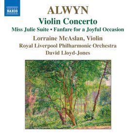 Alwyn / Lloyd-jones / Rlp / Mcaslan - Violin Concerto - Miss Julie Suite (CD)