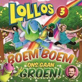 Joubert Alta & Minkie Burger - Lollos 3 - Boem Boem Ons Gaan Groen (CD)