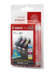 Canon Original CLI-521 Multipack (cyan, Magenta, Yellow)