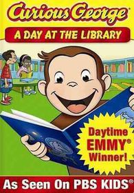 Curious George:Day at the Library - (Region 1 Import DVD)