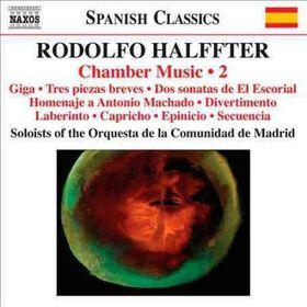 Halffter: Chamber Music Vol 2 - Chamber Music - Vol.2 (CD)