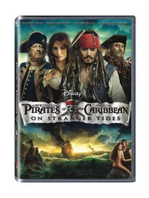 Pirates of the Caribbean: On Stranger Tides (2011)(DVD)
