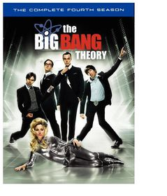Big Bang Theory:Complete Fourth Ssn - (Region 1 Import DVD)