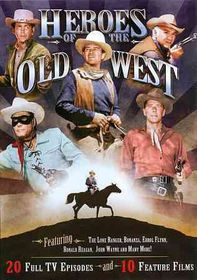 Heroes of the Old West - (Region 1 Import DVD)
