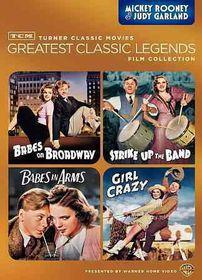 Tcm Greatest:Mickey Rooney & Judy Gar - (Region 1 Import DVD)