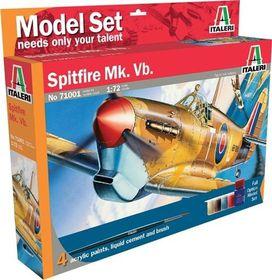 Italeri - 1:72 001 Spitfire Model-set