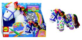 Alex Toys - Color & Cuddle Washable Pony