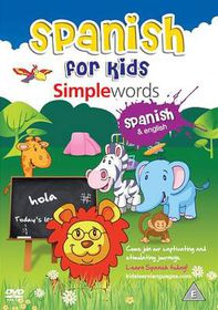 Spanish for Kids: Simple Words - (Import DVD)
