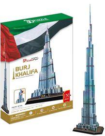 Cubic Fun Burj Khalifa Dubai - 136 Piece 3D Puzzle