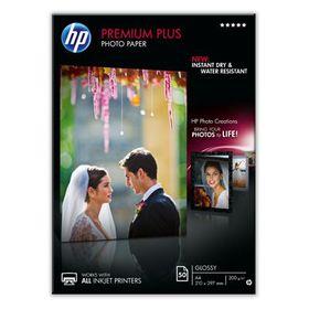 HP CR674A Premium Plus Glossy A4 Photo Paper - 50 Sheets