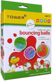 Toby Tower Little Scientist - Make Your Own Bouncing Balls