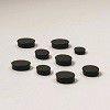 Nobo 20mm Whiteboard Magnets - Black (Pack of 10)