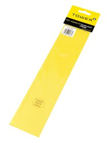 Tower Lever Arch Labels - Yellow (Pack of 12)