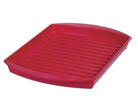 Progressive Kitchenware - Large Microwave Griller - Red