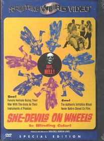 She-Devils on Wheels - (Region 1 Import DVD)