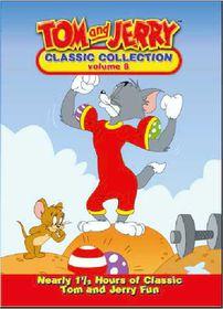 Tom & Jerry Vol. 8 - (DVD)